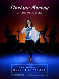 Dimanche 14 avril - repas et thé dansant avec Florianne MORENA - 3 musiciens (nouveau)