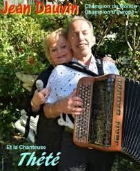 Mercredi 8 mai - repas et thé dansant avec Jean DAUVIN - 2 musiciens