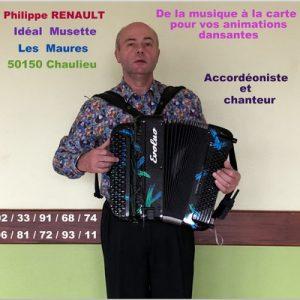 Dimanche 29 décembre - Réveillon avant l'heure - orchestre Philippe RENAULT